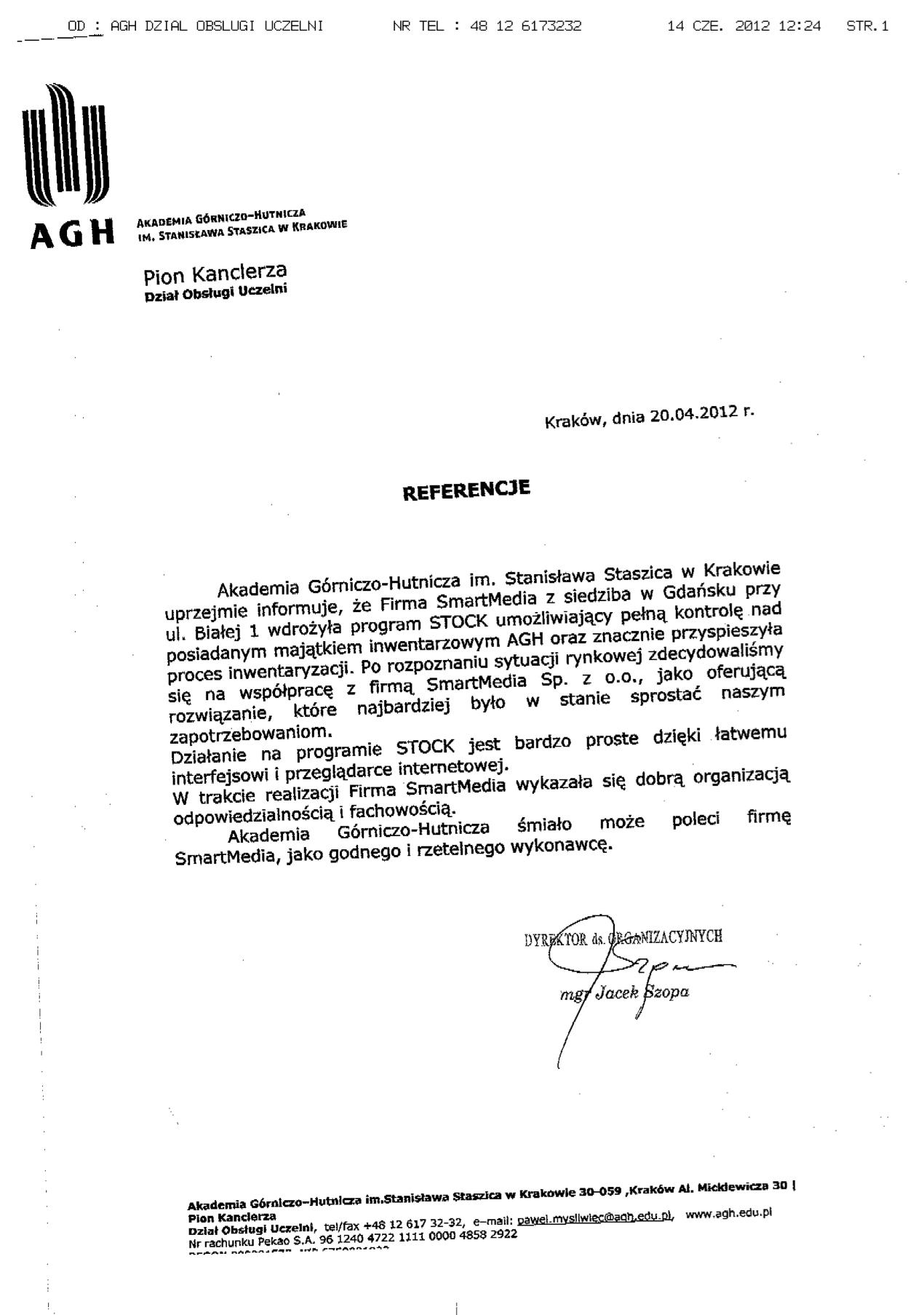 Akademia Górniczo-Hutnicza im. Stanisława Staszica w Krakowie