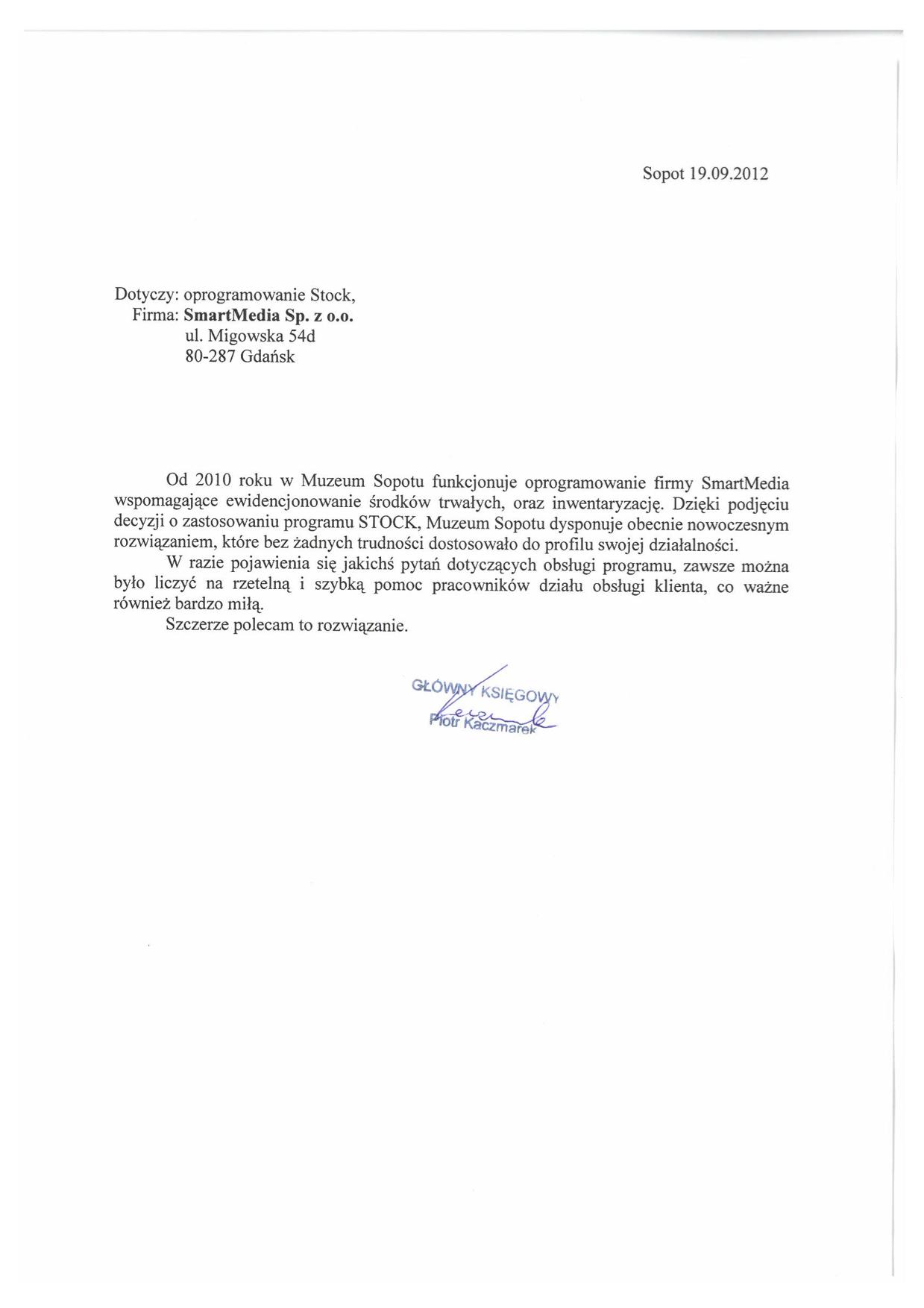Muzuem Sopotu
