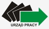 PUP logo - tło jasny szary